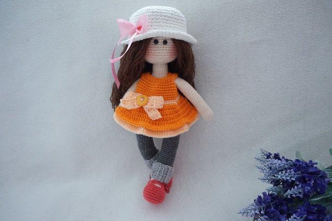 Pretty Doll Crochet Pattern Doll Crochet Pattern 30cm