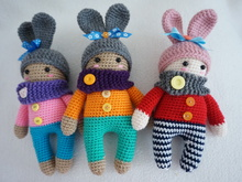 Cute doll crochet pattern