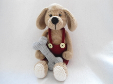 Lovely Puppy crochet pattern