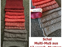Schal Multimus stricken