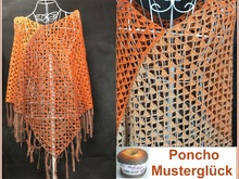 Pattern happiness Poncho