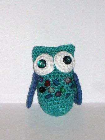 Amigurumi Owl Pattern, crochet owl pattern, owl pattern, crochet ...   450x338