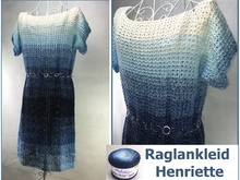 Henriette Raglan Dress