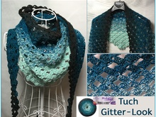 Grid look Shawl