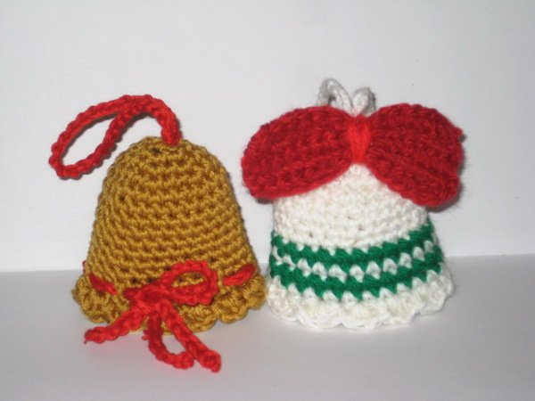 Christmas bell pattern