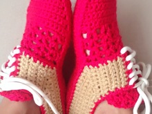 Crochet Pattern for woman Oxford Shoes, Unisex house slippers- U.S. Big girls and teens sizes 3-7, Women Us 3-12, with video links