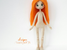 Pattern Doll Alex