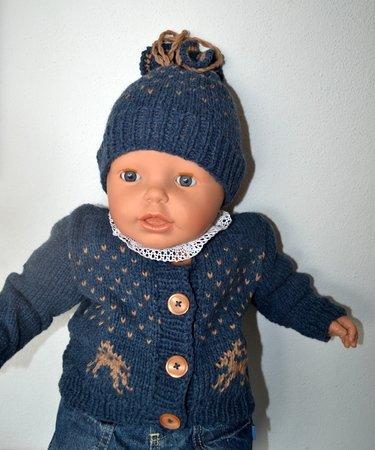 Baby Trachten Jacke Mit Mütze Hirsch 3 Größen