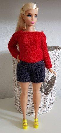 Anleitung Für Einen Raglan Pullover Für Curvy Barbie