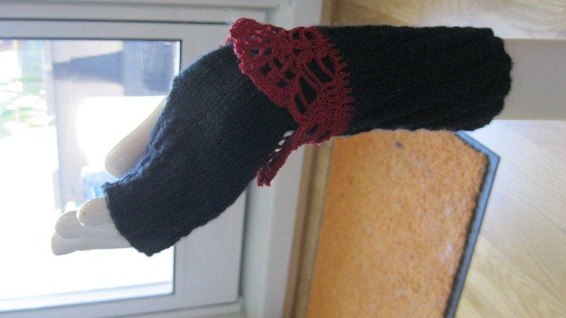 Pulswärmer, Fingerlose Handschuhe
