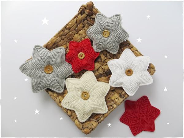 Sterne häkeln // Weihnachtsdeko / Adventsdeko