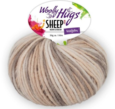 XXL-Kissen aus Woolly Hugs SHEEP