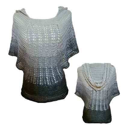 Shirt häkeln // mit oder ohne Kapuze // DIY