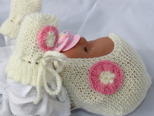 Baby doll knitted set