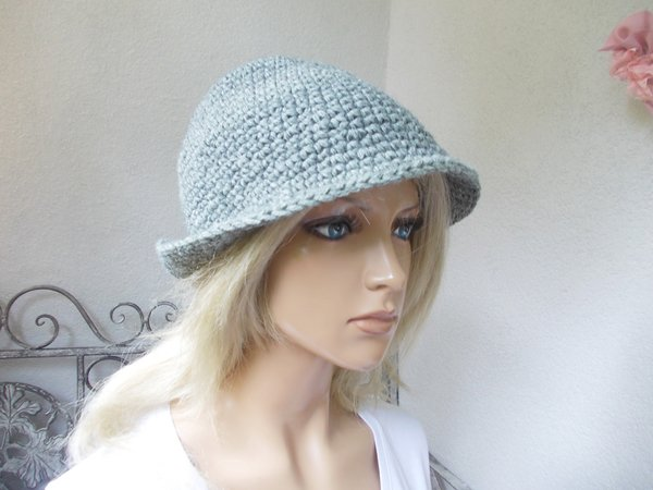 "crochet pattern hat ""fairy hat"", also suitable for children and men, quick and easy to crochet"