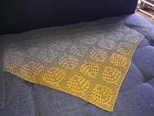 "Shawl ""Falling Leaves"" Crochet Pattern"