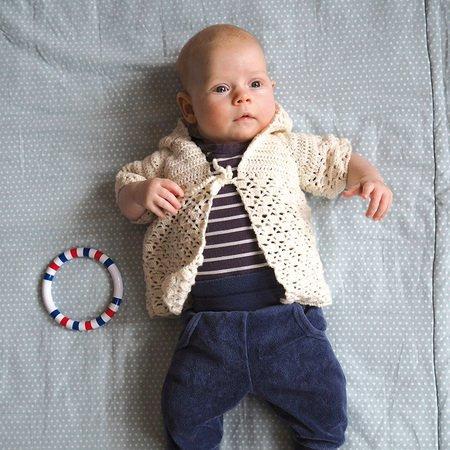 Häkelanleitung Babyjacke Mit Kapuze Merino Extrafein 758097