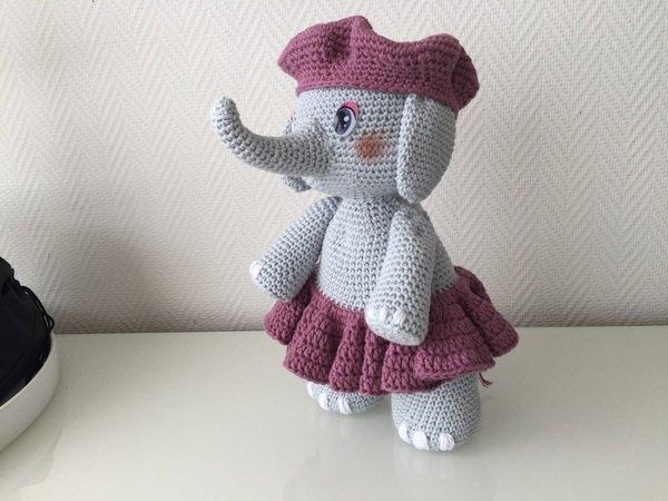 elefant h keln elefantendame h keln diy. Black Bedroom Furniture Sets. Home Design Ideas