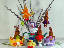Crochet Pattern Easter decoration