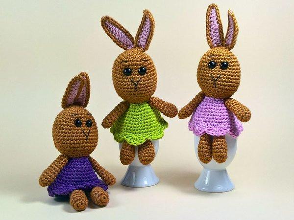 Crochet Easter Bunny, Spring Bunny Rabbit, Amigurumi, Crochet ...   450x600