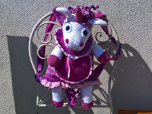 Crochet Pattern Backpack Unicorn