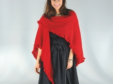 "Strickanleitung Damenponchocape ""Piazza"" 758061"