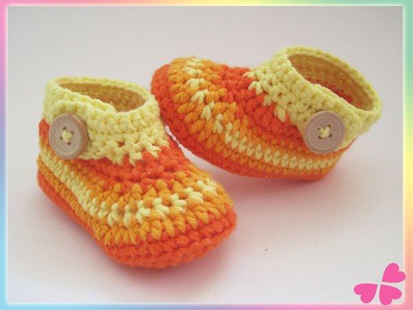 Häkelanleitung Babyschuhe Für Frühchen Bis 1 Jahr Häkeln