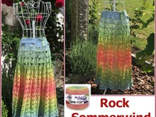 "Rock ""Sommerwind"" mit 2 Bobbel Woolly Hugs-COTTON häkeln"