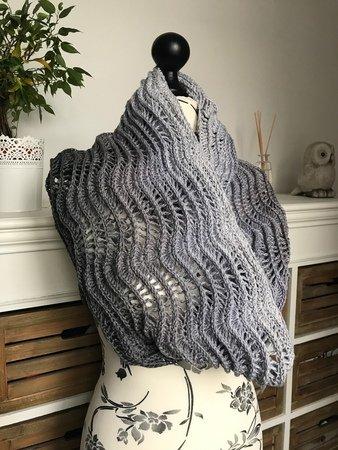 Loop Häkeln Schal Für Bobbel Anfänger