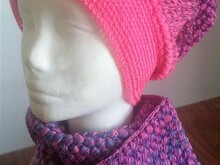 "Crochet Pattern Long Beanie ""Bee"""