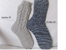 Strickanleitung_Socken-Set             Partnerlook