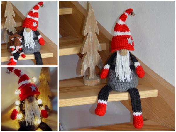 Wichtel häkeln // Weihnachtsdeko häkeln / DIY