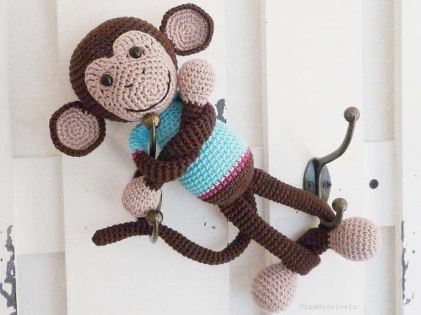 Affe Häkeln Niedlich Und Freundlich Diy