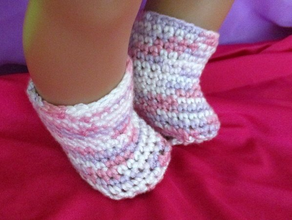 Häkelanleitung Socken Für Babypuppen Fußlänge 55 Cm