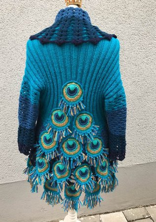 Peacock Feather Jacket