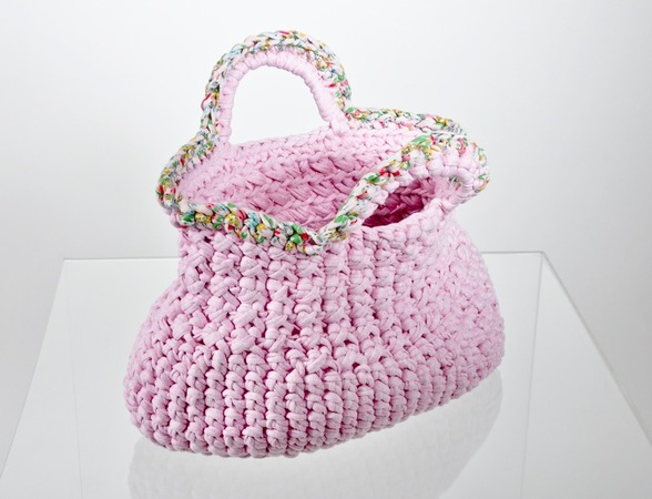 gehäkelte Handtasche