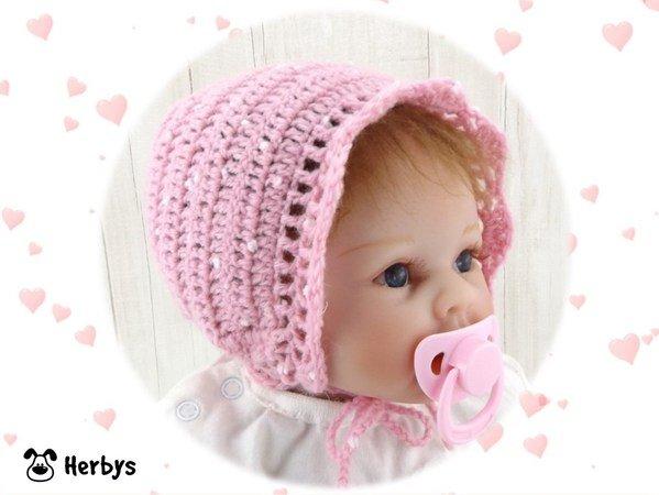 Babymütze Häkeln 2 4 Monate 5 7 Monate