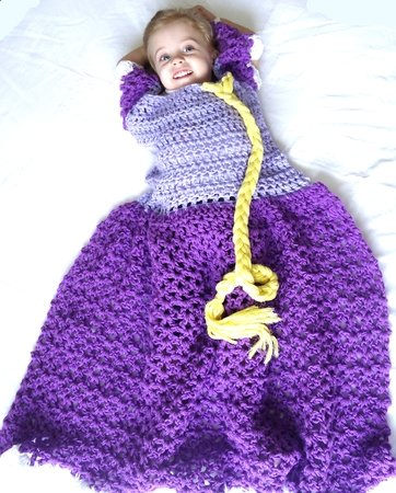 Princess Dress Blanket