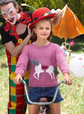 offizielle Seite großer Abverkauf Durchsuchen Sie die neuesten Kollektionen Kinderpulli Filipa stricken