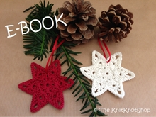 PDF Crochet Pattern Christmasornament Star