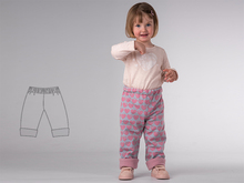FIOCCO Kids Baby Boy Girl pants sewing pattern pdf lined and reversible