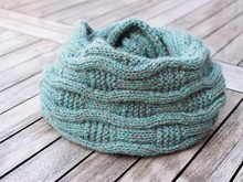 Cowl ANOUK, knitting pattern, one-size