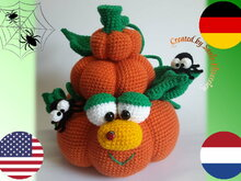 crochet pattern Pumpkin