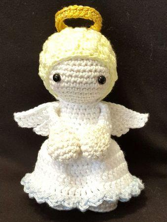 Häkelanleitung Engel Puppe