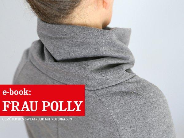 Fau Polly - gemütliches Raglankleid mit Rollkragen