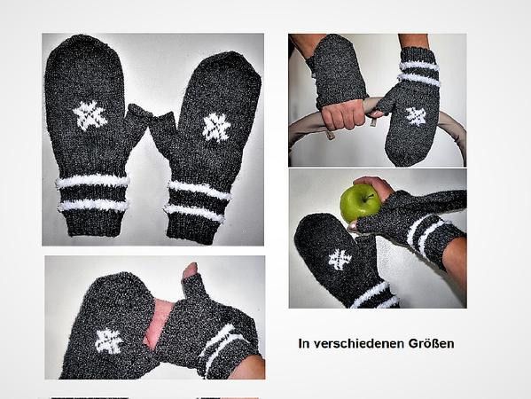 Strickanleitung Handschuhe-Fingerfrei