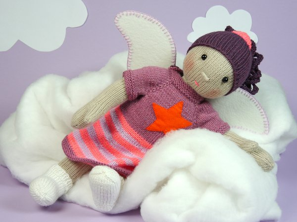 Mathilda Angel Doll, knitting pattern