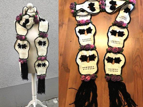Skull Schal