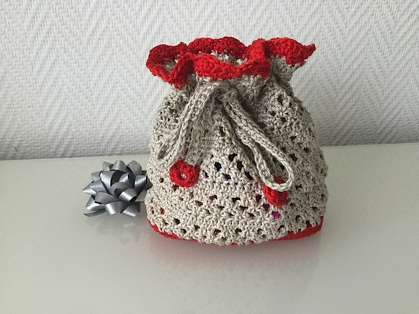 Säckchen Häkeln Geschenkverpackung Diy