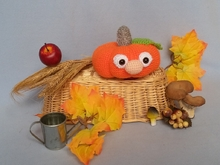 Crochet pattern Kuno the pumpkin